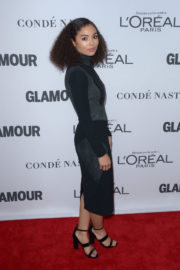 Jessica Sula Stills at Glamour Women of the Year Summit in New York