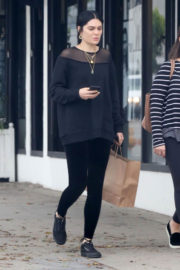 Jessie J and a Friend Stills Out Shopping in West Hollywood