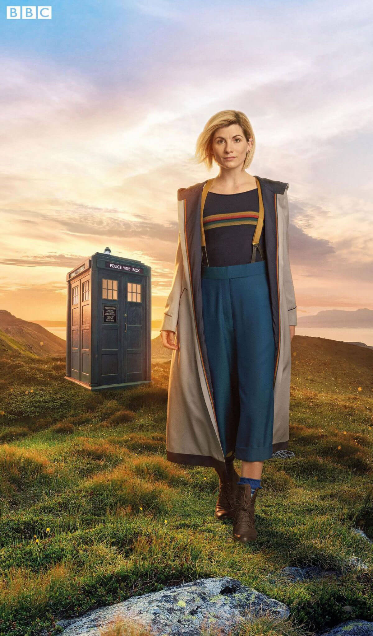 Jodie Whittaker Stills at Doctor Who Promo Shots 2017