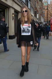 Josephine Skriver Out and About in London