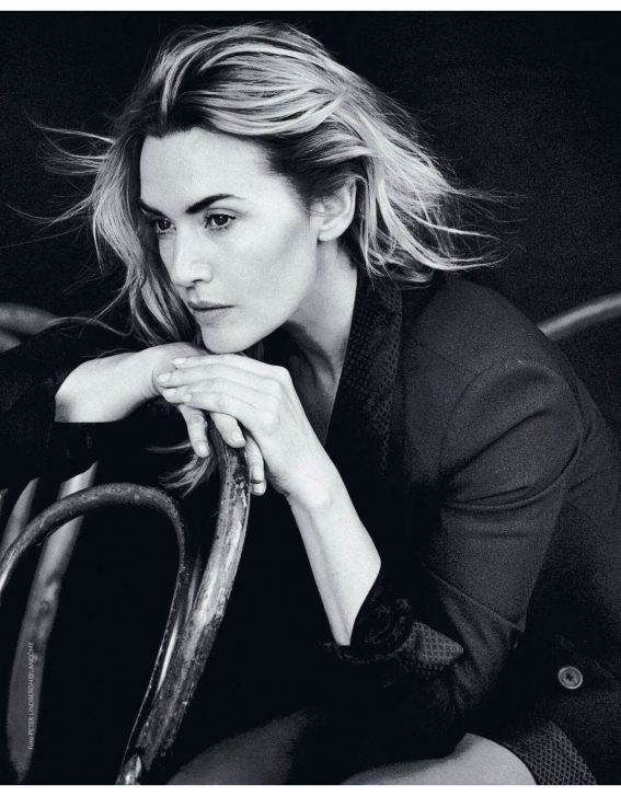 Kate Winslet Poses for Grazia Magazine, Italiy November 2017 Issue