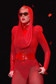 Katy Perry Performs Stills at Staples Center in Los Angeles