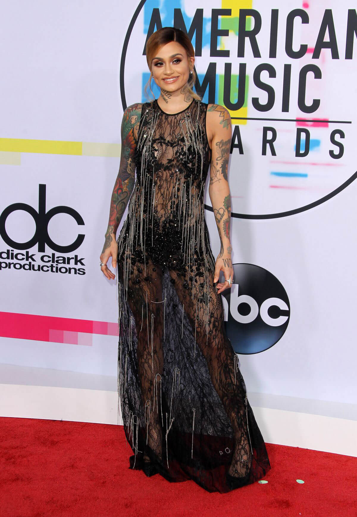 Kehlani Stills at American Music Awards 2017 in Los Angeles