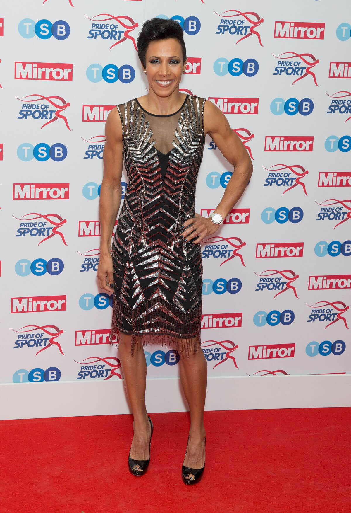 Kelly Holmes Stills at Pride of Sport Awards 2017 in London