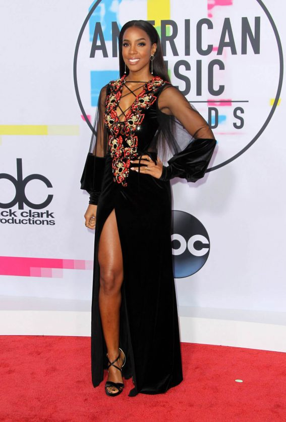 Kelly Rowland Stills at American Music Awards 2017 in Los Angeles