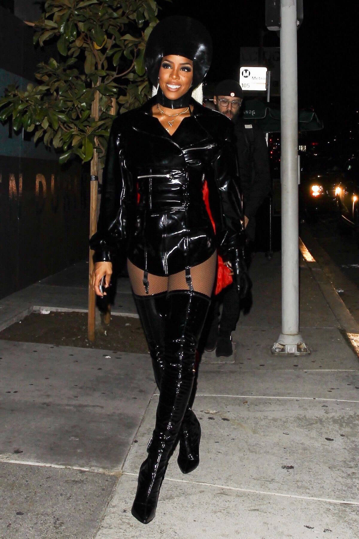 Kelly Rowland Stills at Costume Couture Bash in West Hollywood