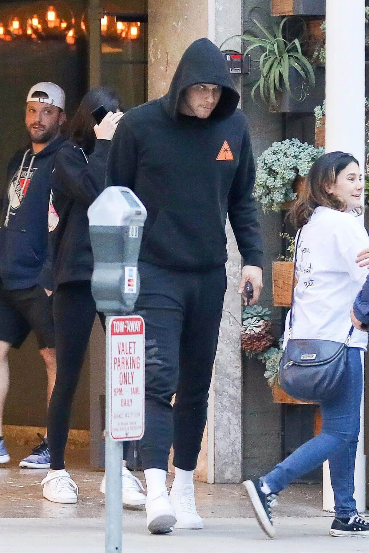 Kendall Jenner and Blake Griffin Stills Leave Sugarfish in Beverly Hills