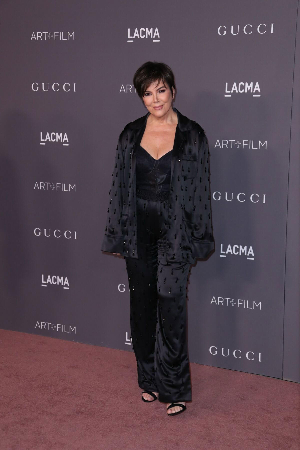 Kris Jenner Stills at 2017 LACMA Art + Film Gala in Los Angeles
