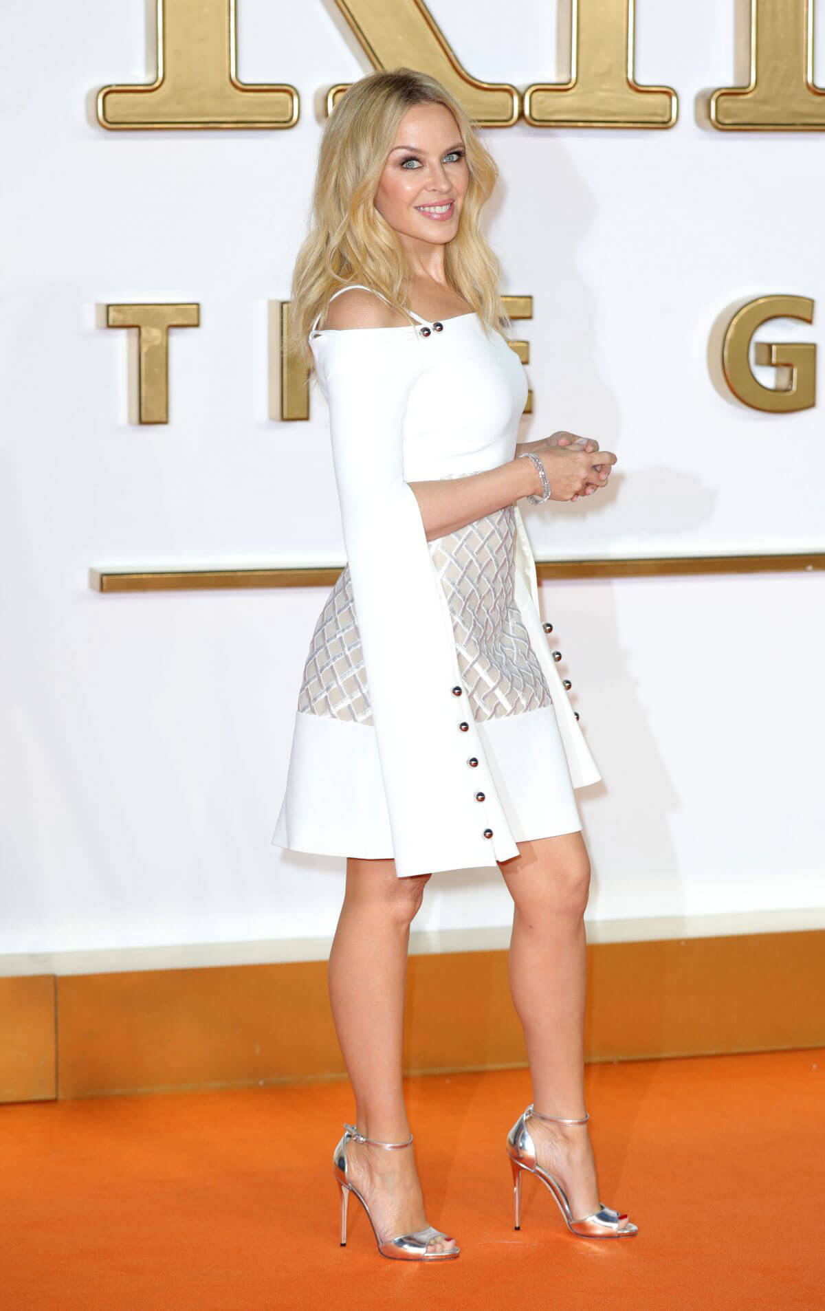 Kylie Minogue Stills at Kingsman: The Golden Circle Premiere in London