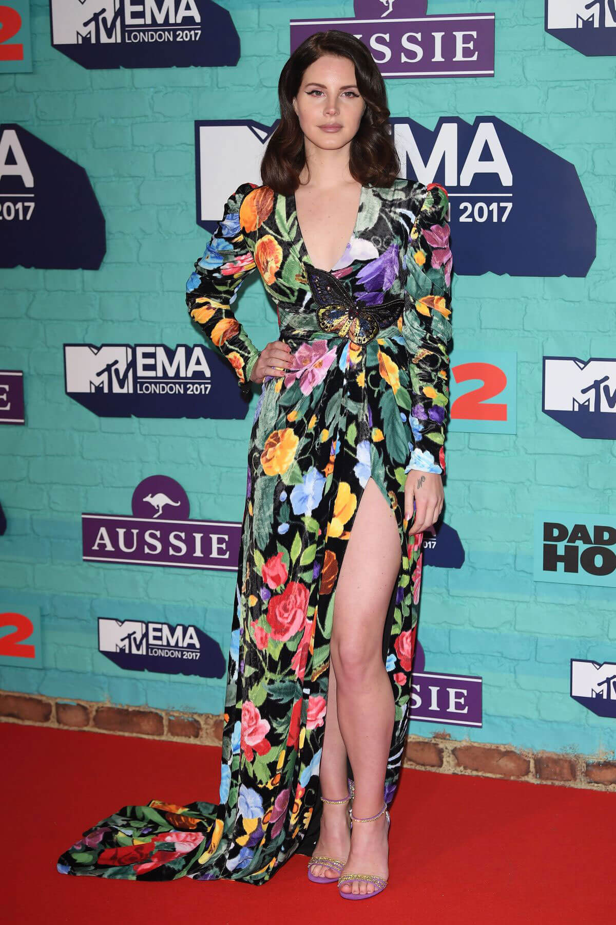 Lana Del Rey Stills at 2017 MTV Europe Music Awards in London