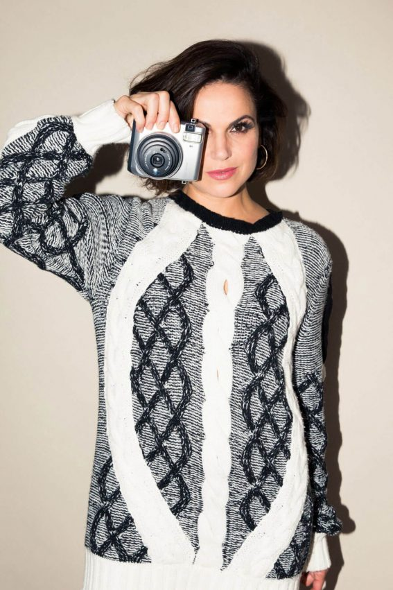 Lana Parrilla Poses for Coveteur Magazine, November 2017