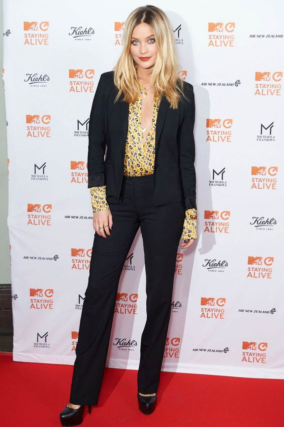 Laura Whitmore Stills at MTV Staying Alive Gala in London 11/08/2017