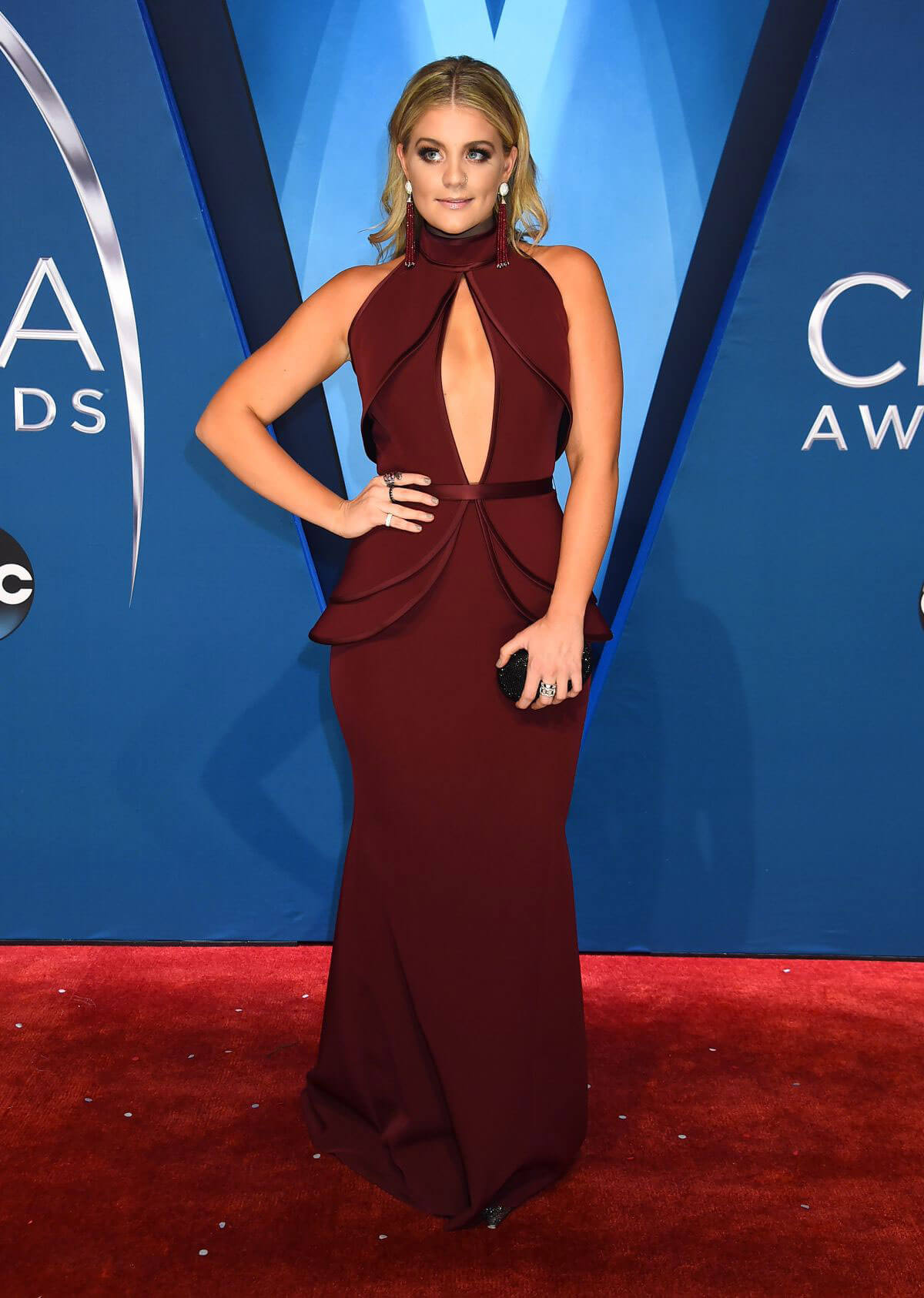 Lauren Alaina Stills at 51st Annual CMA Awards in Nashville 11/08/2017