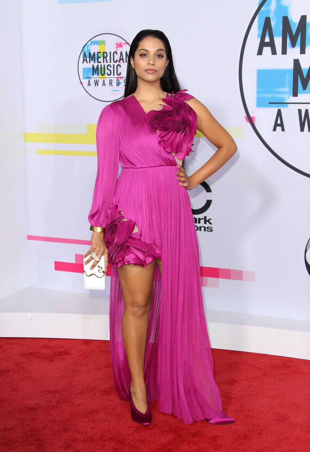 Lilly Singh Stills at American Music Awards 2017 in Los Angeles