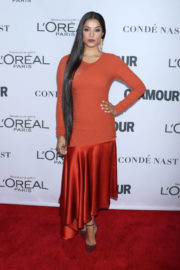 Lilly Singh Stills at Glamour Women of the Year Summit in New York