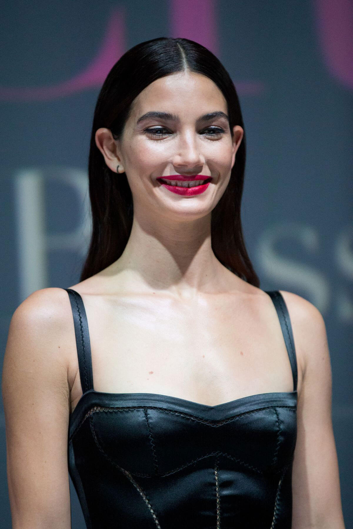 Lily Aldridge Stills at Mercedes-Benz Backstage Secrets by Russell James Book Launch