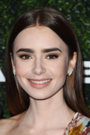 Lily Collins Stills at 2017 GO Campaign Gala in Hollywood