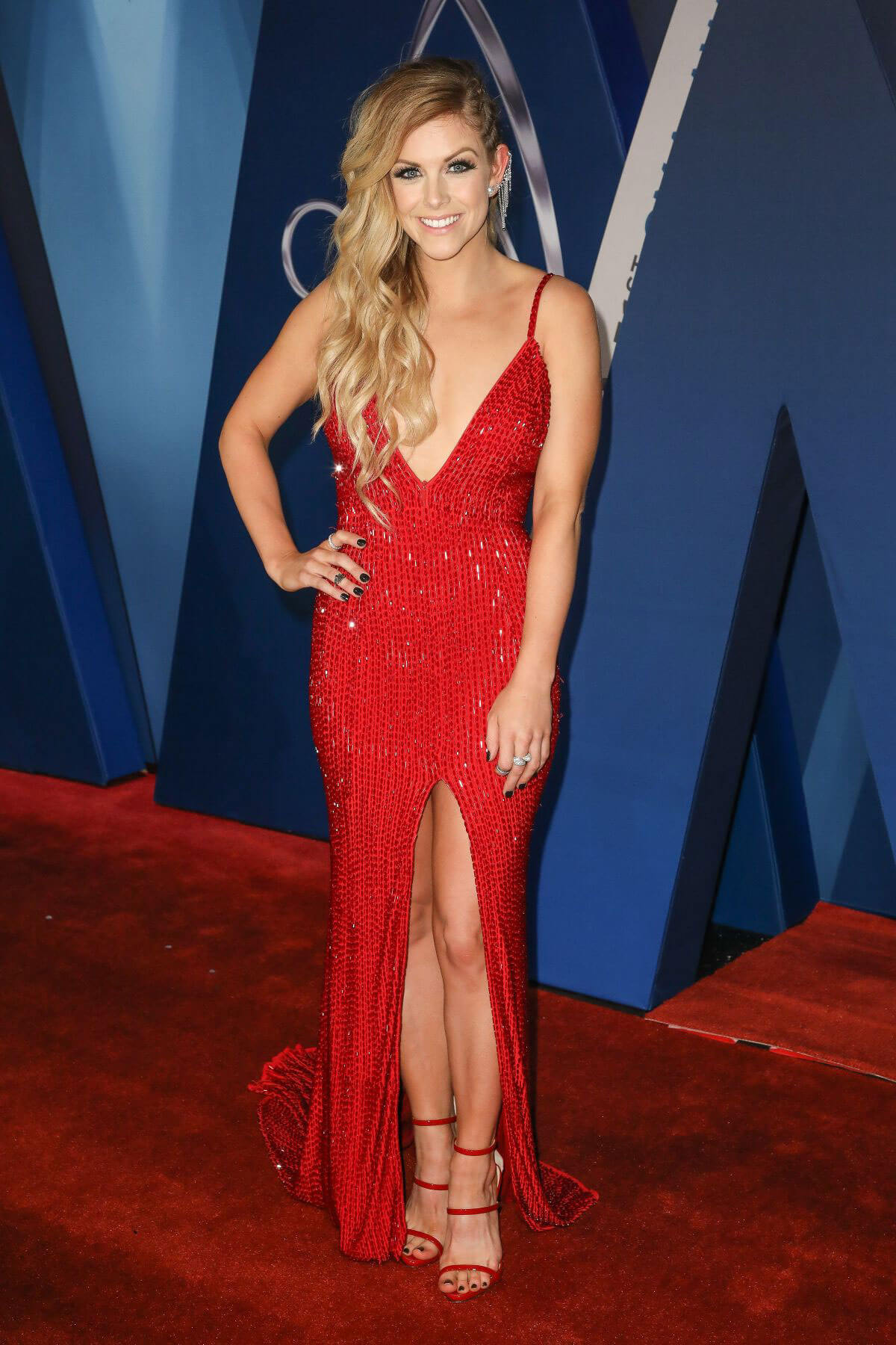 Lindsay Ell Stills at 51st Annual CMA Awards 2017 in Nashville 11/08/2017