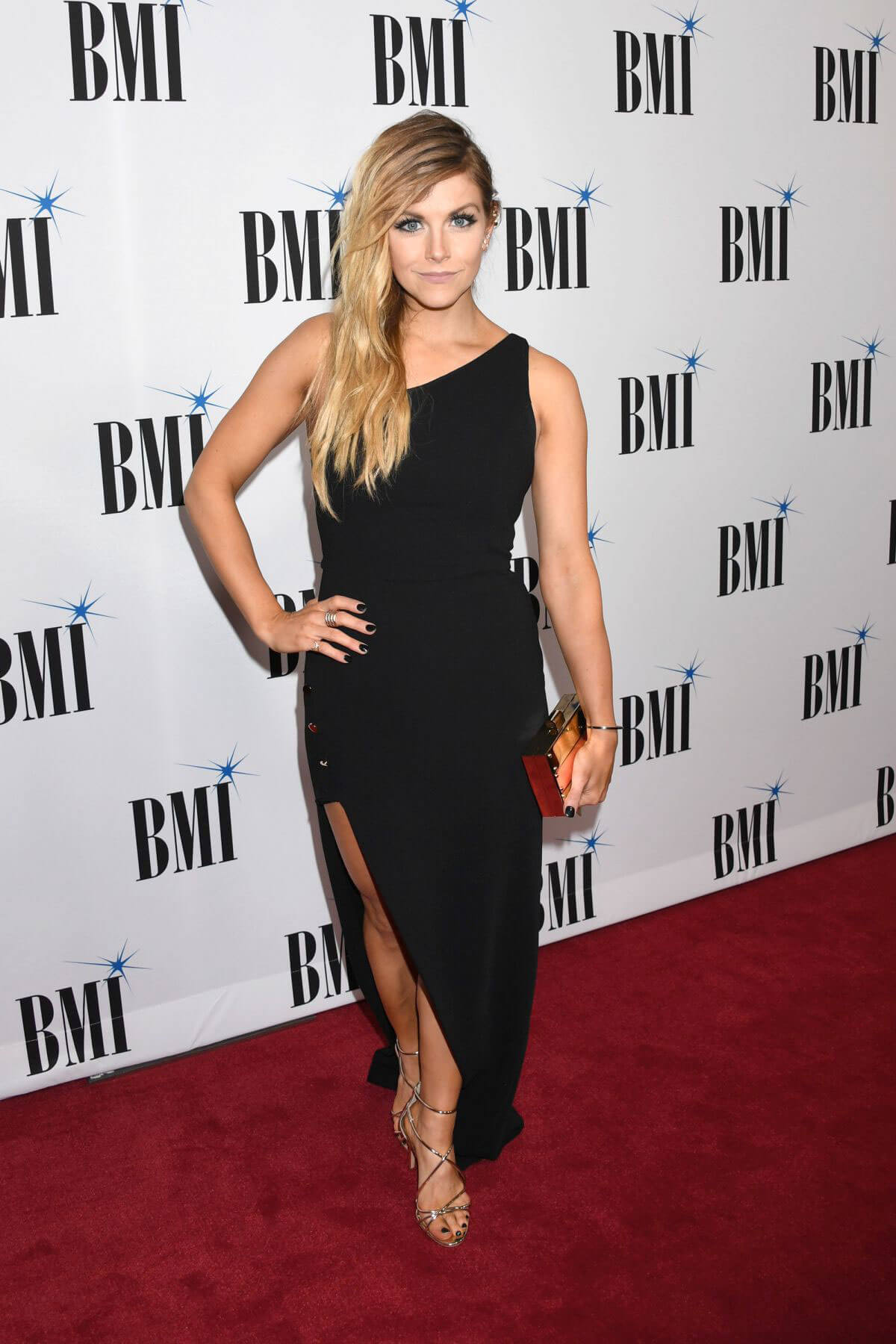 Lindsay Ell Stills at 65th Annual BMI Country Awards in Nashville 11/07/2017