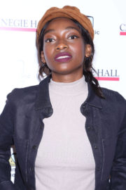 Little Simz Stills at The Children's Monologues at Carnegie Hall in New York