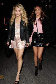 Lottie Moss and Emily Blackwell Stills at Jimmy Choo x Annabel's Party in London