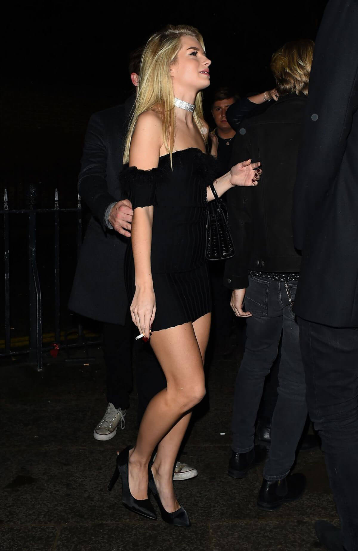 Lottie Moss Stills at Kensington Nightclub in London Images