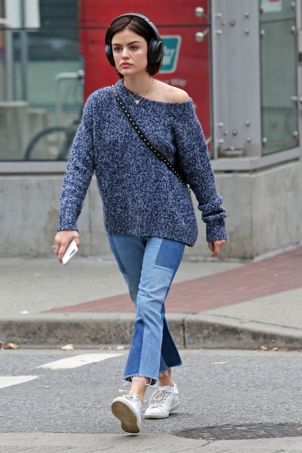 Lucy Hale Stills Out and About in Vancouver