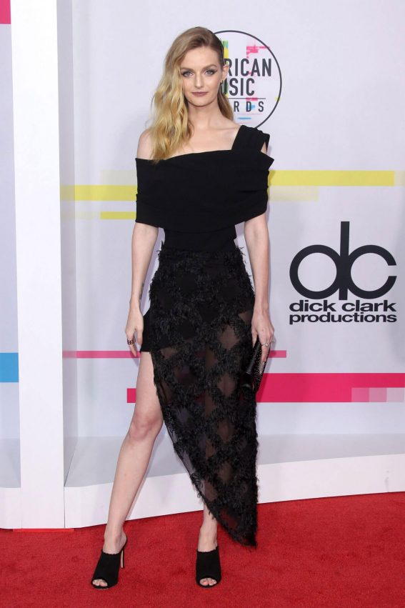 Lydia Hearst Stills at American Music Awards 2017 in Los Angeles