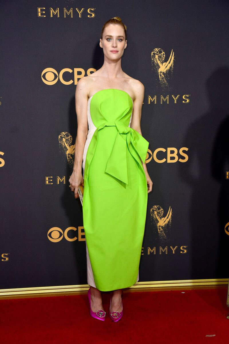Mackenzie Davis Stills at 69th Annual Primetime EMMY Awards in Los Angeles