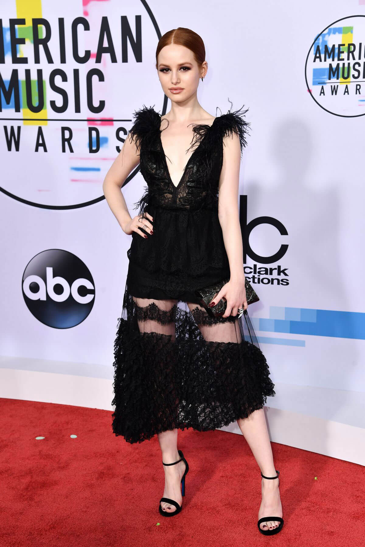 Madelaine Petsch Stills at American Music Awards 2017 in Los Angeles