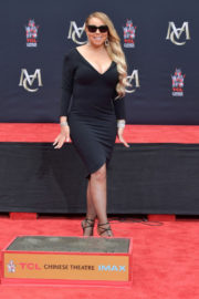 Mariah Carey Stills at Hand and Footprint Ceremony at TCL Chinese Theatre in Hollywood