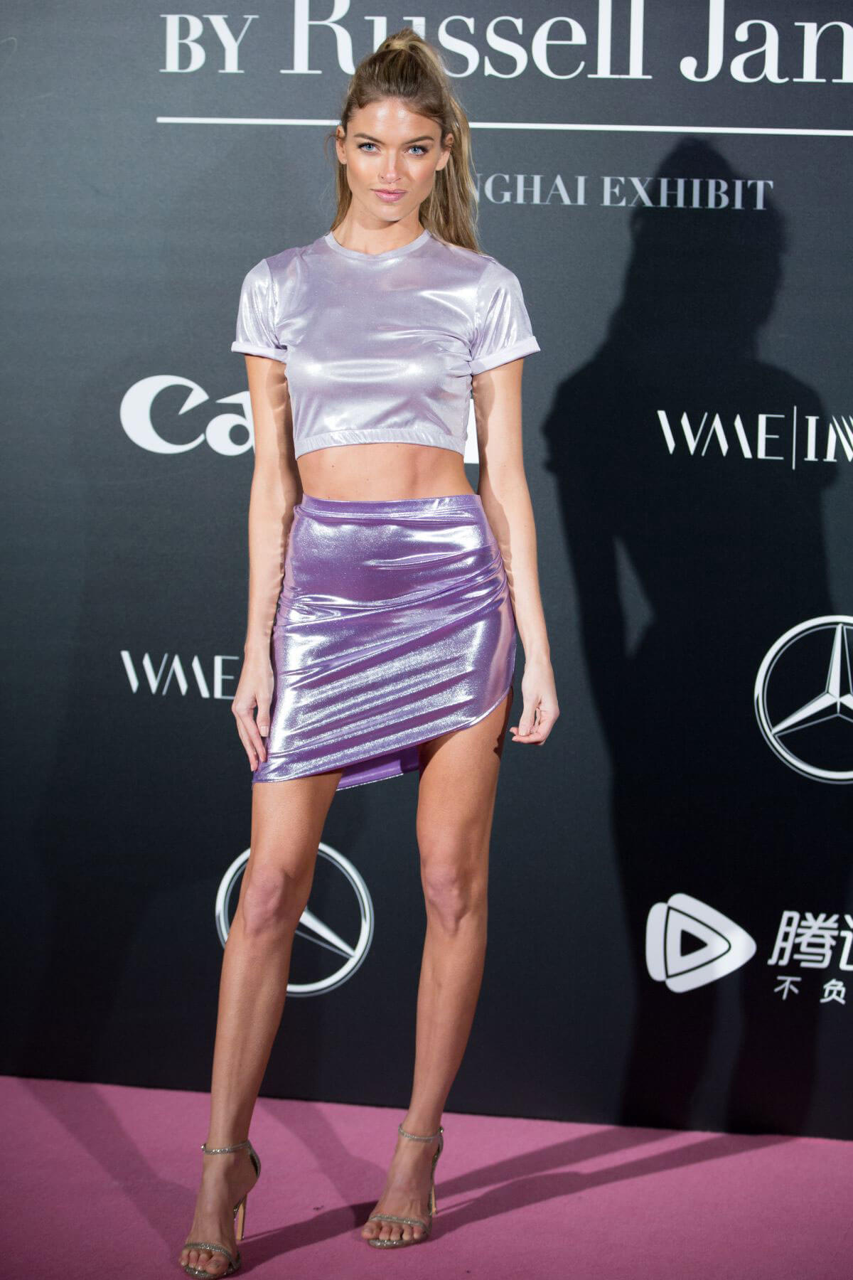Martha Hunt Stills at Mercedes-Benz Backstage Secrets by Russell James Book Launch