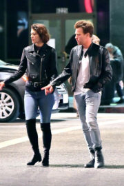 Mary Elizabeth Winstead and Ewan McGregor Stills Out and About in Hollywood
