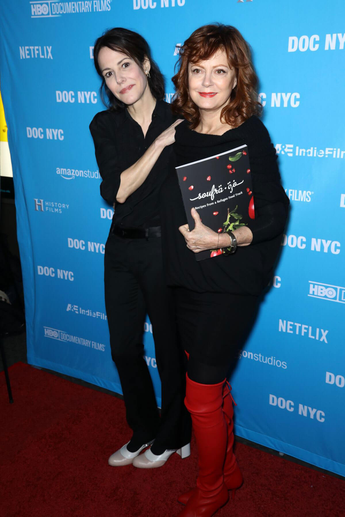 Mary-Louise Parker and Susan Sarandon Stills at Soufra Premiere in New York
