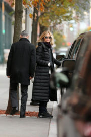 Meg Ryan and John Mellencamp Stills Out for Breakfast in New York