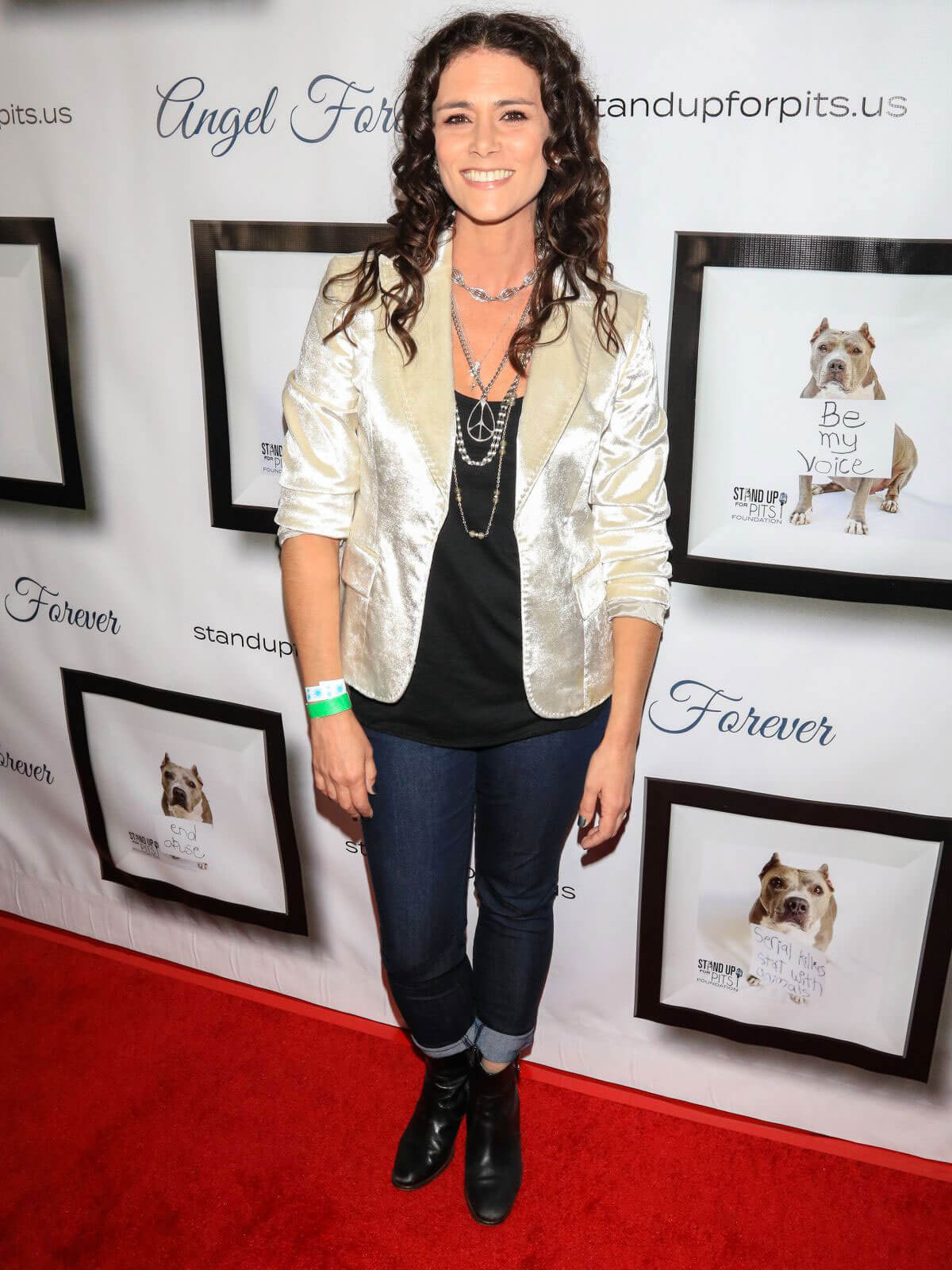 Melissa Ponzio Stills 7th Annual Stand Up for Pits at Avalon Nightclub in Hollywood
