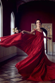 Michelle Dockery Poses for Town & Country Magazine, UK December 2017