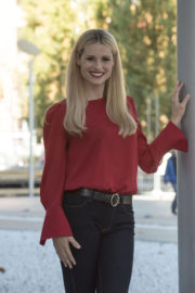 Michelle Hunziker Stills at Double Defense: Killed in a Waiting for Judgement Photocall at Rome Film Festival