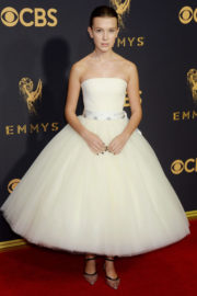 Millie Bobby Brown Stills at 69th Annual Primetime EMMY Awards in Los Angeles