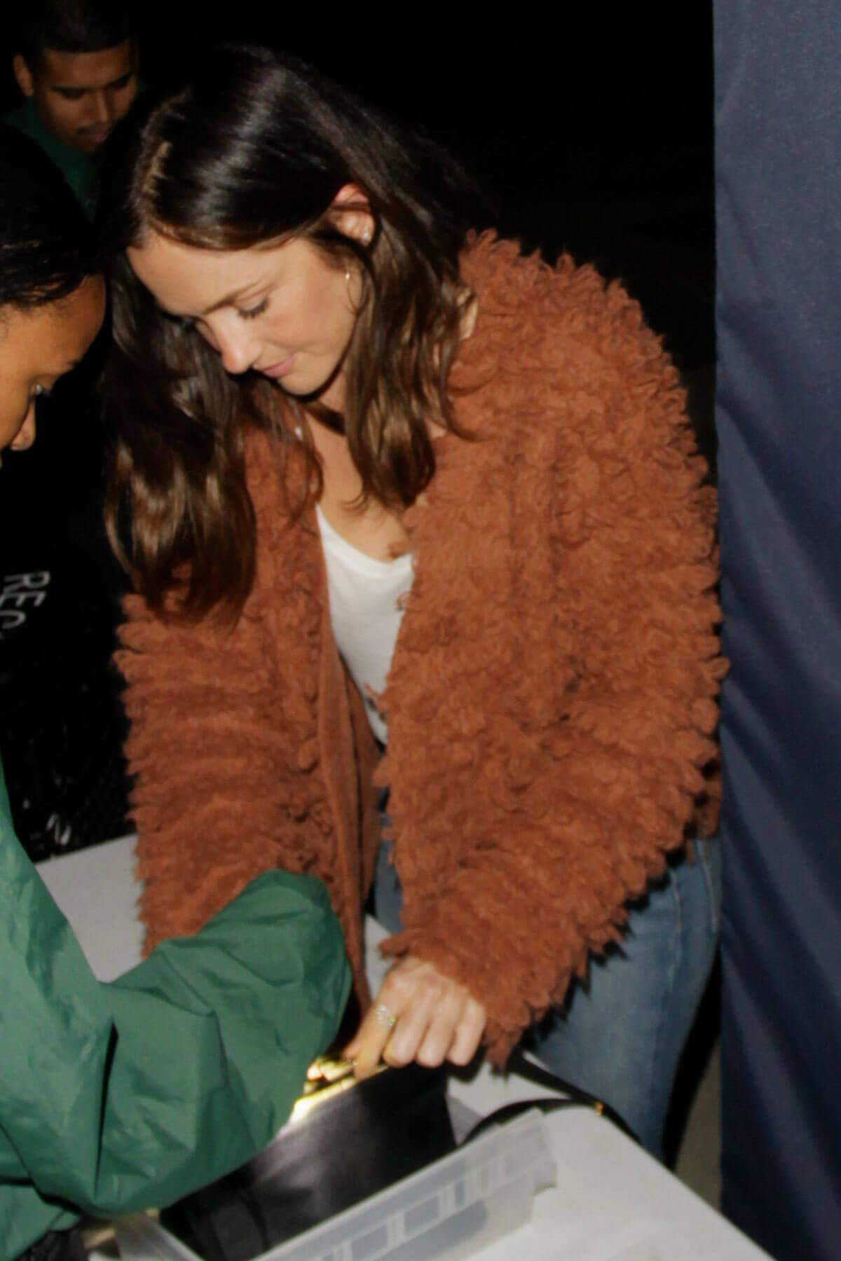 Minka Kelly sTIArrives at Harry Styles Concert in Los Angeles