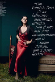 Monica Bellucci Poses for ELLE Magazine Italy December 2017 Issue