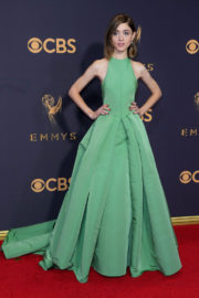 Natalia Dyer Stills at 69th Annual Primetime EMMY Awards in Los Angeles