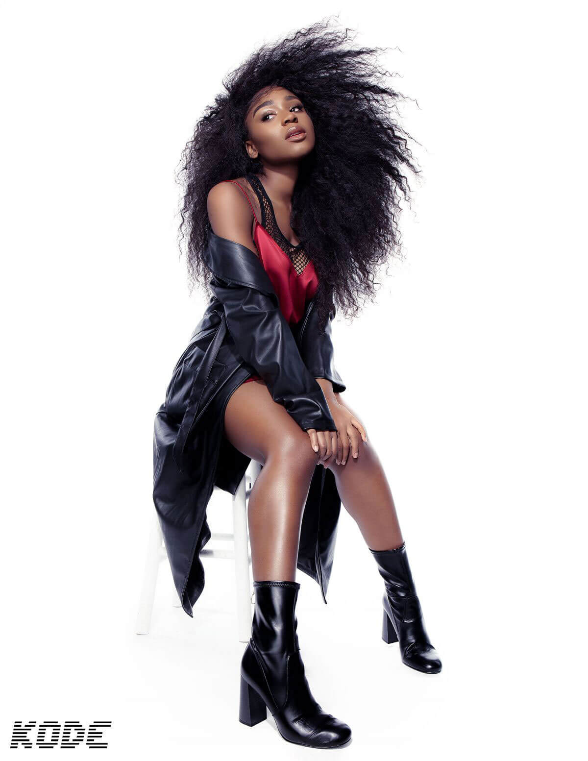 Normani Kordei Poses for Kode Magazine, October 2017