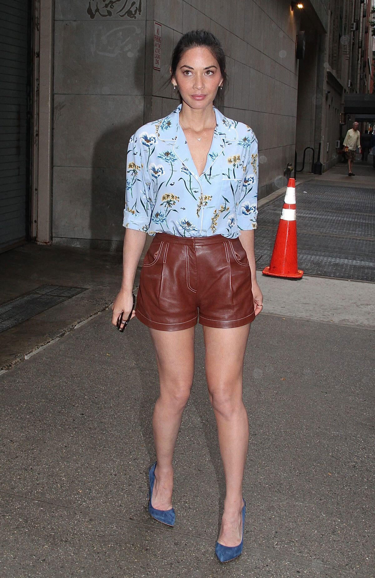 Olivia Munn at The Chew in New York