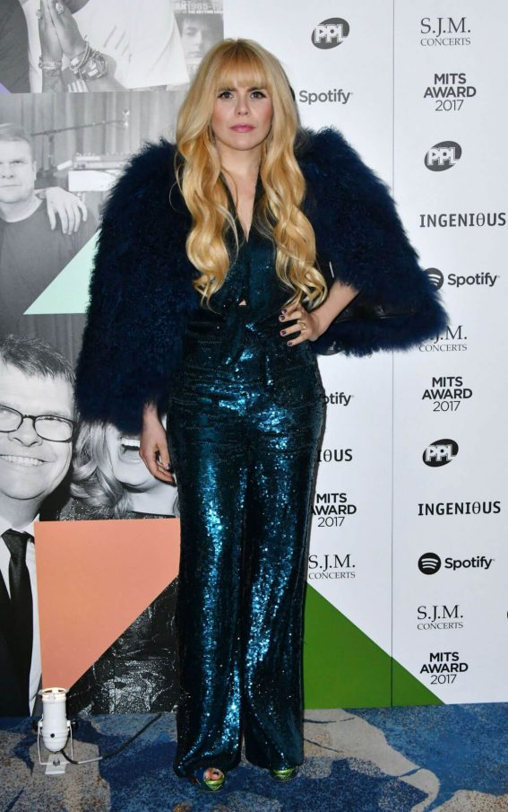 Paloma Faith Stills at 26th Annual Music Industry Trusts Award in London