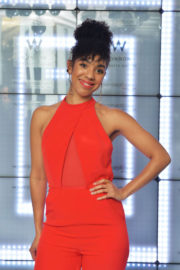 Pearl Mackie Stills at Launch of Perception at W in London