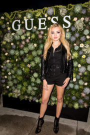 Peyton Roi List Stills at Guess NYFW Fall Fashion Event in New York