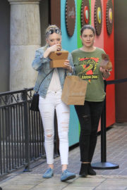Portia Doubleday Stills Out Shopping at The Grove in West Hollywood
