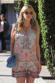 Pregnant Nicky Hilton Stills Out Shopping in Beverly Hills