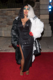 Remy Ma Stills at Chris Brown Album Release Party in Universal Studios